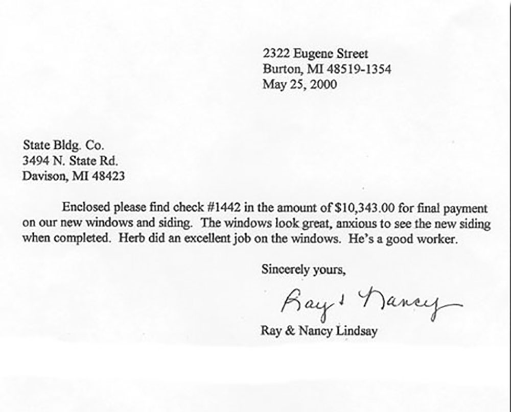 Thank You Letter To Employee For Job Well Done from statebuildingcompany.com